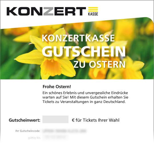Online-Gutschein Ostern