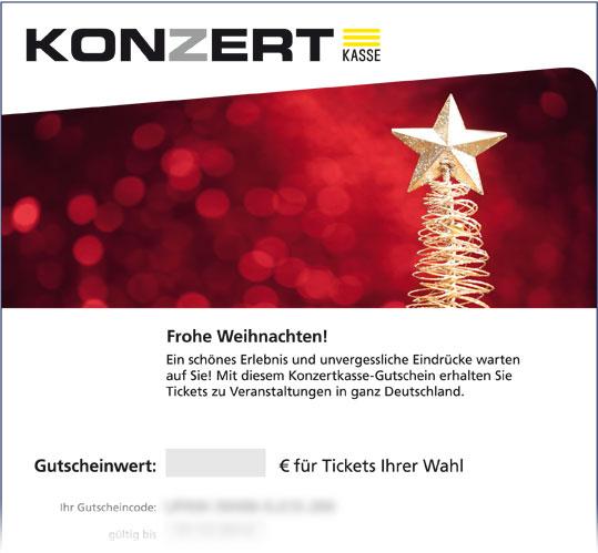 """Online-Gutschein, Motiv: Weihnachten """"Weihnachtsstern"""""""