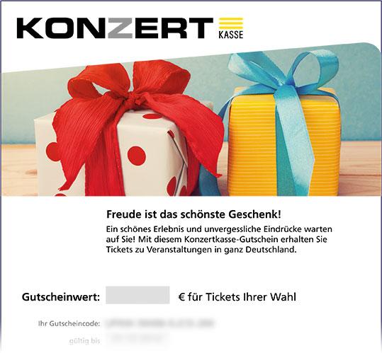 Gutschein, Motiv: Geburtstag II